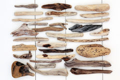 Estratto del legname galleggiante Fotografia Stock