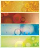 Estratto del manifesto di vettore Fotografie Stock