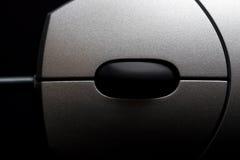 Estratto del mouse sopra il nero Fotografie Stock Libere da Diritti