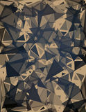 Estratto del triangolo Fotografia Stock