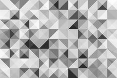 Estratto del triangolo del fondo Modelli di semitono di progettazione del fondo Ambiti di provenienza moderni astratti geometrici Immagine Stock