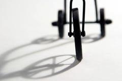 Estratto del triciclo immagini stock