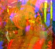 Estratto dell'acquerello Fotografia Stock