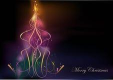 Estratto dell'albero di Natale Immagine Stock