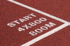 Estratto dell'atletica leggera Fotografie Stock