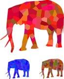 Estratto dell'elefante Fotografia Stock Libera da Diritti