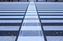 Estratto dell'incrocio di Pdestrian fotografia stock libera da diritti