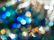 Estratto dell'indicatore luminoso in azzurro fotografia stock libera da diritti