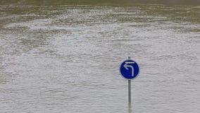 Estratto dell'inondazione stock footage