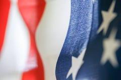 Estratto della bandiera americana Fotografia Stock Libera da Diritti