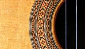 Estratto della chitarra Fotografie Stock Libere da Diritti