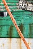 Estratto della corda Fotografie Stock