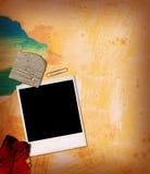 Estratto della foto del Polaroid fotografia stock libera da diritti