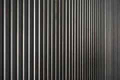 Estratto della lamina di metallo nella linea verticale Fotografia Stock
