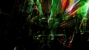 Estratto della luce della città di notte illustrazione di stock