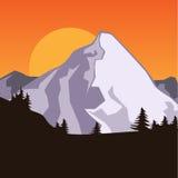 Estratto della montagna Royalty Illustrazione gratis