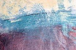 Estratto della pittura a olio Immagine Stock Libera da Diritti