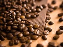 Estratto della priorità bassa del caffè Immagini Stock