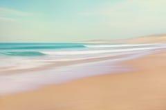 Estratto della sabbia e del mare Fotografia Stock Libera da Diritti