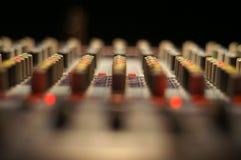 Estratto della scheda audio Immagini Stock