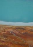 Estratto della sorgente calda Fotografia Stock