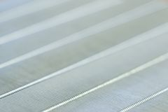 Estratto della superficie di metallo, macro Fotografia Stock Libera da Diritti