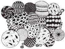Estratto delle bolle illustrazione di stock