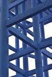 Estratto delle colonne e travi del serbatoio elevato dell'acqua Immagine Stock Libera da Diritti