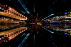 Estratto delle fibre ottiche Fotografia Stock Libera da Diritti