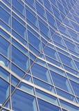 Estratto delle finestre dell'ufficio Fotografie Stock Libere da Diritti