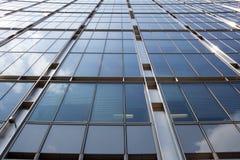 Estratto delle finestre della costruzione Fotografie Stock Libere da Diritti