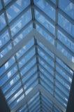Estratto delle linee di soffitto delle finestre Immagini Stock