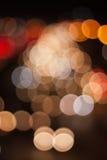 Estratto delle luci Immagini Stock Libere da Diritti