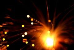 Estratto delle luci Fotografia Stock