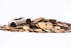 Estratto delle spese di proprietà di automobile Immagine Stock