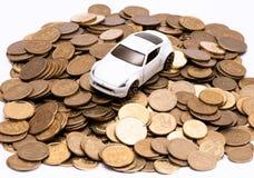 Estratto delle spese di proprietà di automobile Immagine Stock Libera da Diritti