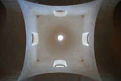 Estratto dello steeple della chiesa Immagini Stock Libere da Diritti