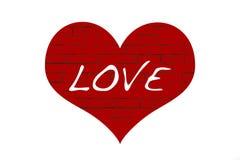 Estratto di amore Immagine Stock Libera da Diritti