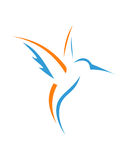 Estratto di assicurazione in caso di morte dei dirigenti dell'estratto 2 del colibrì illustrazione vettoriale