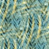 Estratto di cubismo, struttura di Picasso di arte, waterco Fotografia Stock Libera da Diritti