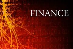 Estratto di finanze illustrazione vettoriale