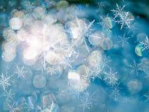 Estratto di ghiaccio blu Fotografia Stock Libera da Diritti
