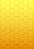 Estratto di gradiente di colore giallo arancione Immagini Stock Libere da Diritti