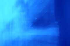 Estratto di indicatore luminoso blu Fotografia Stock