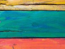 Estratto di legno approssimativo d'annata della plancia per fondo Fotografia Stock Libera da Diritti