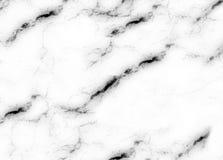 Estratto di pietra naturale del modello di struttura di marmo bianca del fondo con l'alta risoluzione Fotografie Stock Libere da Diritti