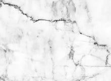 Estratto di pietra naturale del modello di struttura di marmo bianca del fondo con l'alta risoluzione Immagine Stock Libera da Diritti