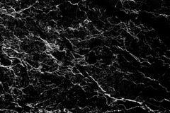 Estratto di pietra naturale del modello di struttura di marmo nera del fondo con l'alta risoluzione Immagine Stock Libera da Diritti