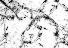 Estratto di pietra naturale del modello di struttura di marmo bianca del fondo con l'alta risoluzione Fotografia Stock Libera da Diritti