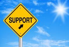 Estratto di sostegno Immagine Stock
